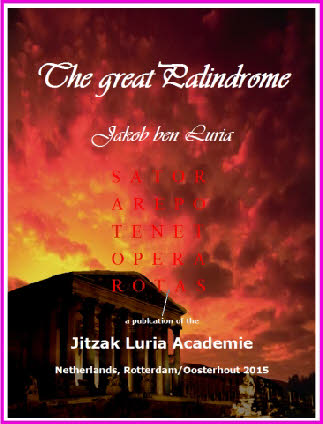 The Great Palindrome - Jakob ben Luria (front page)